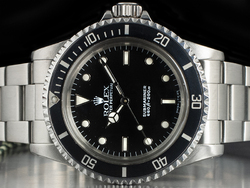 Rolex Submariner 5513 Oyster Quadrante Nero
